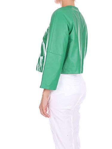 Ropa Verde Mujer Cuero Zoe P814426green I8Uwxq