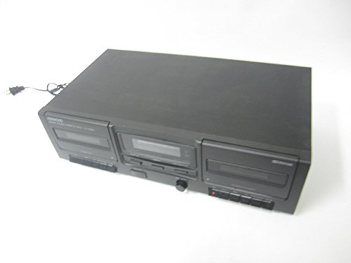 (Kenwood KX-W594 Stereo Double Cassette Tape Deck)