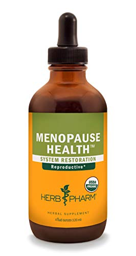 Herb Pharm Menopause Health Liquid Herbal Formula for Physical and Emotional Support - 4 Ounce