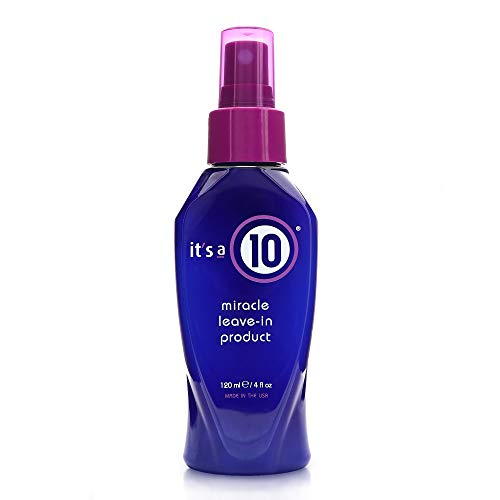 It's a 10 Haircare Miracle Leave-In Product, 4 fl. oz (Its A Curl Leave In Conditioner)