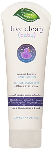 Live Clean Baby Calming Bedtime Baby Lotion, 7.7 Fluid Ounce