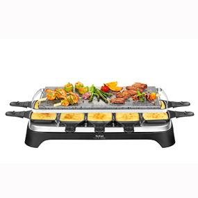 tefal pr4578 pierrade raclette f r 10 personen mit abnehmbarer grillplatte ebay. Black Bedroom Furniture Sets. Home Design Ideas