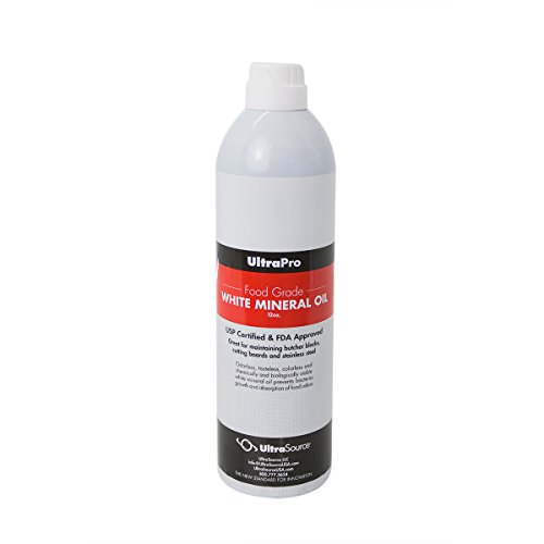 Food Grade Mineral Oil, Easy Use Spray Bottle for Cutting Boards, Butcher Blocks, Stainless Steel and More, NSF Approved (Aerosol-free) ()