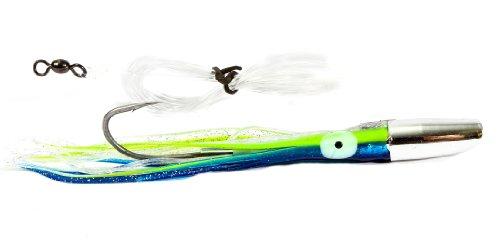 Boone Mahi Jet Rigged Bait, Dark Blue Silver, 6 1/2-Inch (Mahi Mahi Bait)