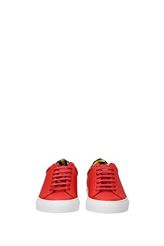 Givenchy Women Red Leather and BE08219889960 Multicolor Red Sneakers 3UK dxHwRd