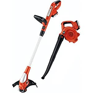 Factory-Reconditioned Black & Decker LCC220R 20V MAX Cordless Lithium-Ion String Trimmer/Edger with Sweeper/Blower