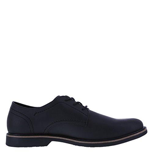 Dx Mens Burt Plain-toe Oxford Black