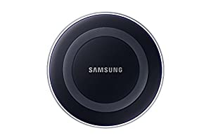 Samsung Qi Certified Wireless Charging Pad only- Supports wireless charging on Qi compatible smartphones including the Samsung Galaxy S8, S8+, Note 8, Apple iPhone 8, iPhone 8 Plus, and iPhone X (US Version) - Black Sapphire