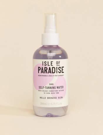 Isle of Paradise Self-Tanning Water Tanner Dark - Bronzed Glow Full Size