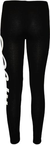 WearAll - Slogan imprimé long leggings pants - Dope - 40-42