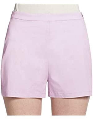 Theory Micro High Waisted Summer Twill Shorts in Lilac - Size 2
