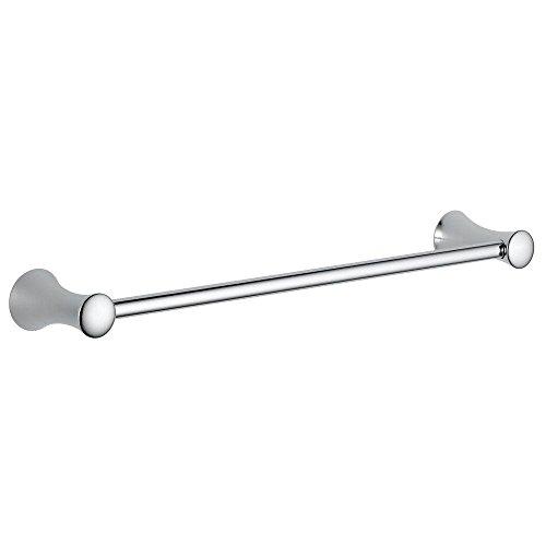 Delta Faucet Bath Accessories 73818 Lahara 18 Bathroom Towel Holder Rack, Polished Chrome