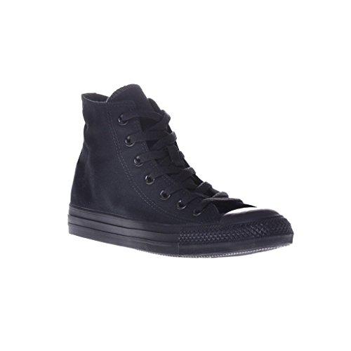 Converse Unisex Chuck Taylor All Star Hi Top Sneaker Svart Monokrom