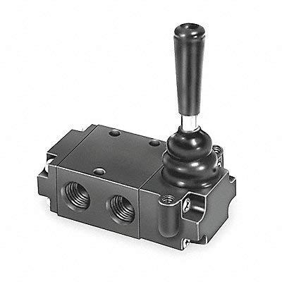 Manual Air Control Valve, 3-Way, 1/4In NPT