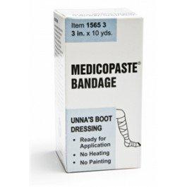 Grafco 15654 Medicopaste Unna's Boot Dressing, Latex Free Gauze Bandage - 1/dz - 4'' x 10 yds.