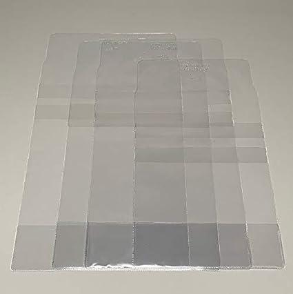 Buchumschlag aus PVC 140 Mikron 5 St/ück 218 mm