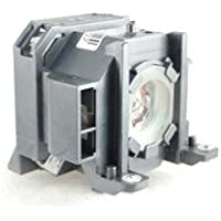 Epson ELPLP38 replacement projector lamp bulb with housing - High quality replacement lamp