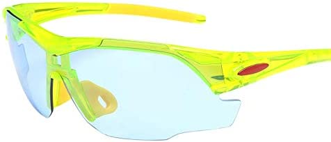 DishyKooker Men Cycling Eyewear Glasses Outdoor Sport MTB Bicycle Motorcycle Sunglasses Bright Black Gray Lens