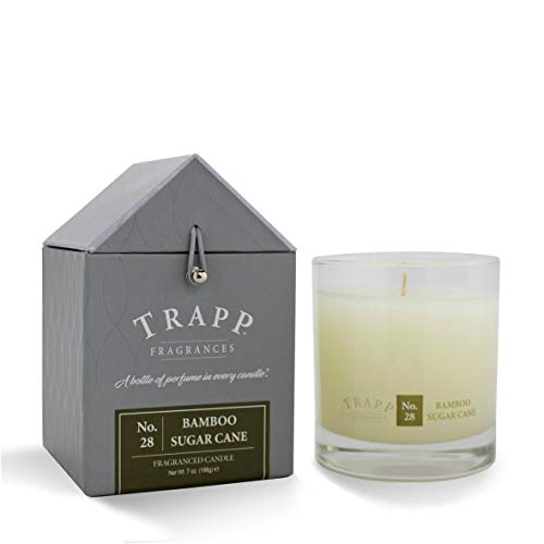 Trapp Signature Home Collection No. 28 Bamboo Sugar Cane Poured Scented Candle, 7-Ounce ()