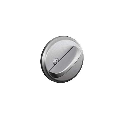 Schlage B80 626 12-287 10-116 134 N N SL One-Sided Deadbolt, Satin Chrome