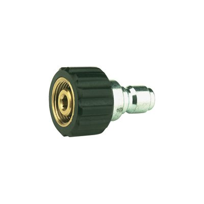 NorthStar Ball-Type Pressure Washer Quick Coupler Nipple - 22mm Inlet Size, 4000 (Inlet Ball)
