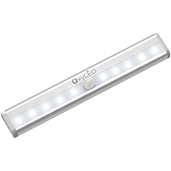 OxyLED Motion Sensor Closet Lights,Cabinet Light,DIY Stick On Anywhere  Portable Wireless