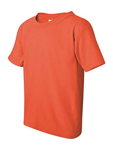 Gildan Youth Heavy Cotton T-Shirt - Coral Silk - L ()