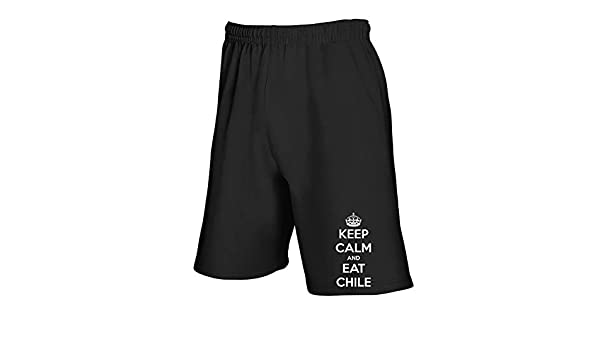 Speed - Chándal Negro TKC2697 Keep Calm and Eat Chile Negro S ...