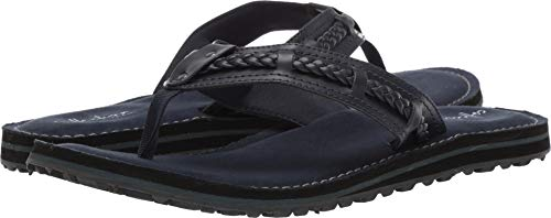 CLARKS Women's Fenner Nerice Flip-Flop Navy Synthetic 060 M US