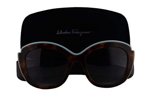 Salvatore Ferragamo SF726S Sunglasses Havana Aqua w/Gray Gradient Lens 225 SF 726S (Salvatore Ferragamo Gray Sunglasses)
