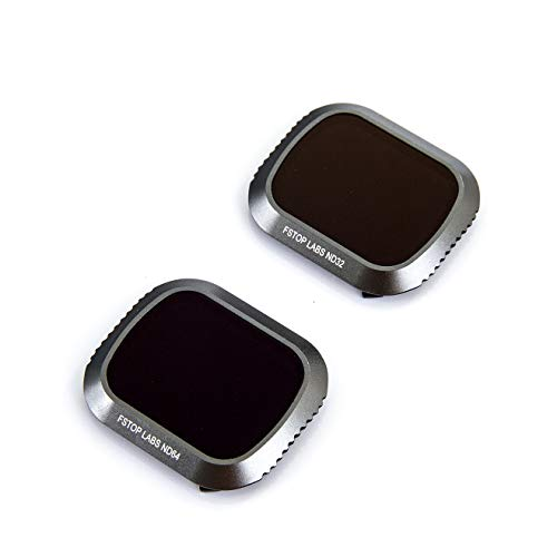 Lens Filters for DJI Mavic 2 Pro Camera Lens Set, Multi Coated Filters Pack Accessories ND32, ND64 (2 Pack) Updated: Will fit Gimbal Cover