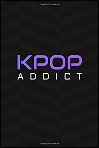 Kpop Addict: 120 Page Blank Lined Journal: Amazon.es ...