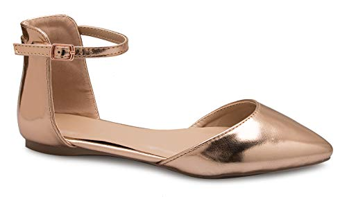 Used, OLIVIA K Women's D'Orsay Pointed Toe Fashion Ballet for sale  Delivered anywhere in USA