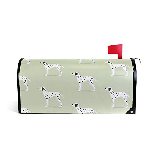 Magnetic Mailbox Cover Dalmatian Dogs Wrap- Standard Size 20.8