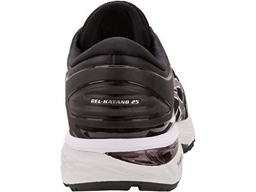 ASICS Gel Kayano 25 Men's Running Shoe, Black/Glacier Grey, 7 D US by ASICS (Image #7)