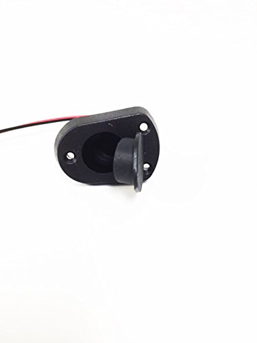 """Pactrade Marine Boat LED All-Around Stern Pole Light with Base, 25"""" L"""
