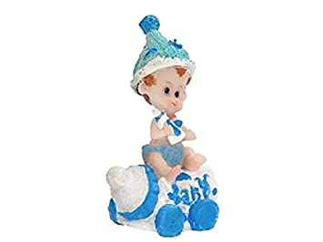Tortenfigur Blau Taufe Babyparty 1geburtstag Amazonde