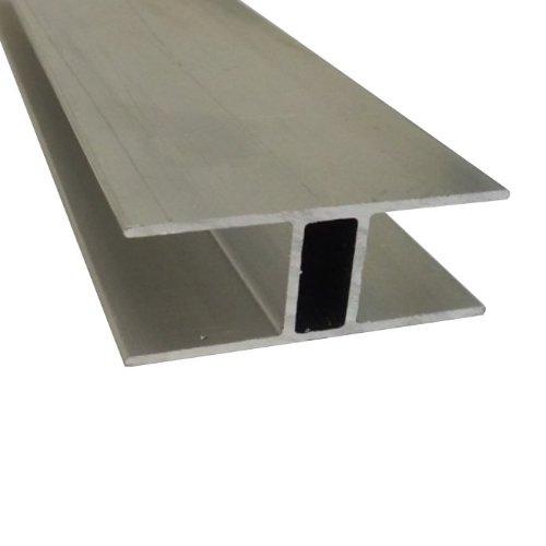 Andreas Ponto H-Profil für Stegplatten 16 mm länge 1000 mm, 1 Stück, 425095580069