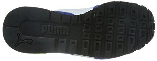 Puma ST Runner NL Jr Unisex-Kinder Sneakers Blau (surf the web-white-jasmine green 06)