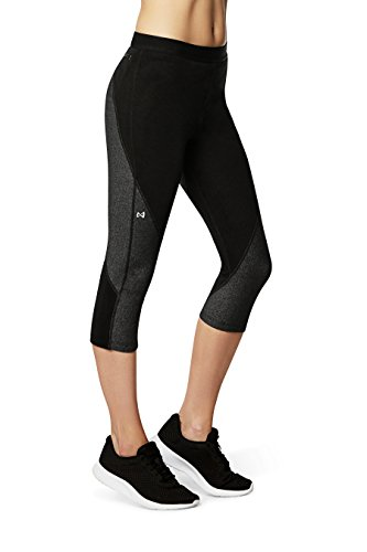 Price comparison product image Physiclo Pro Resistance Women's Compression Capri Training Pants with Built-in Resistance Band Technology