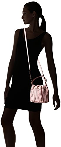 MILLY Bag Convertible Cross Fringe Small Body Blush Essex SwqSrR