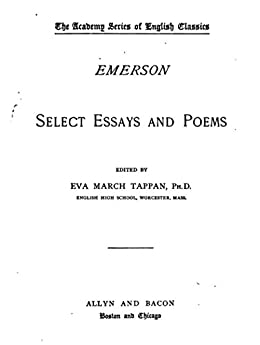 emerson essay on persian poetry Philosophy was a major source for emerson's essays and poems hence  the  splendor of expression in persian poetry, and wrote about saadi and hafiz and.