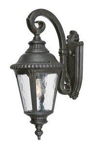 Outdoor Lighting Fixtures Collection (Acclaim 7202BG Surrey Collection 1-Light Wall Mount Outdoor Light Fixture, Black Gold)