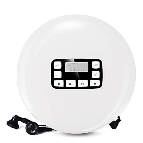 HOTT Portable CD Player CD611,Small Walkman CD Player for sale  Delivered anywhere in Canada