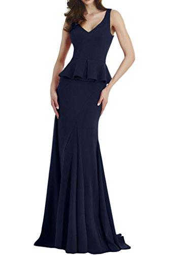 TOSKANA BRAUT - Vestido - para mujer azul oscuro