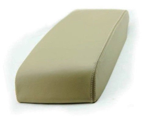 Avalon Console - Fits 2005-2010 Toyota Avalon Synthetic Beige Leather Center Console Armrest Cover . (Skin Only)