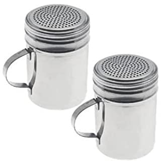 Dozenegg Stainless Steel Versatile Dredge Shaker, Set of 2 (B000JUTCEQ) | Amazon price tracker / tracking, Amazon price history charts, Amazon price watches, Amazon price drop alerts
