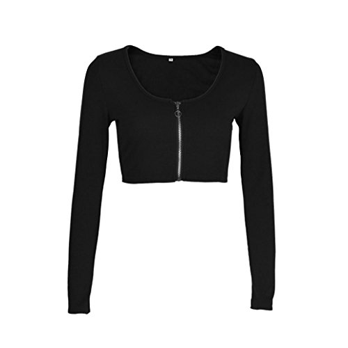 Vovotrade Zipper Sleeve Blouse Sweater product image