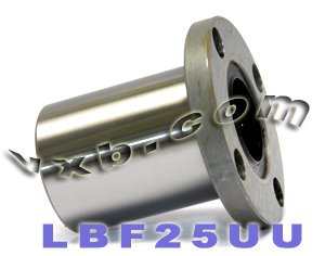 Round Flanged Linear Motion Bushing - 25mm Round Flanged Bushing Linear Motion