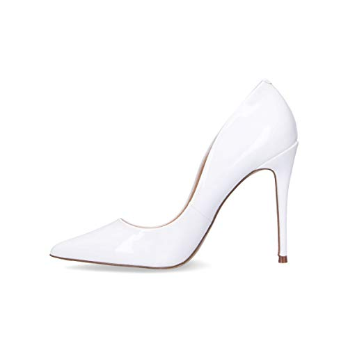 Daisiewht Zapatos Mujer Steve Altos Sintético Blanco Madden Cuero UwqE7ECfx